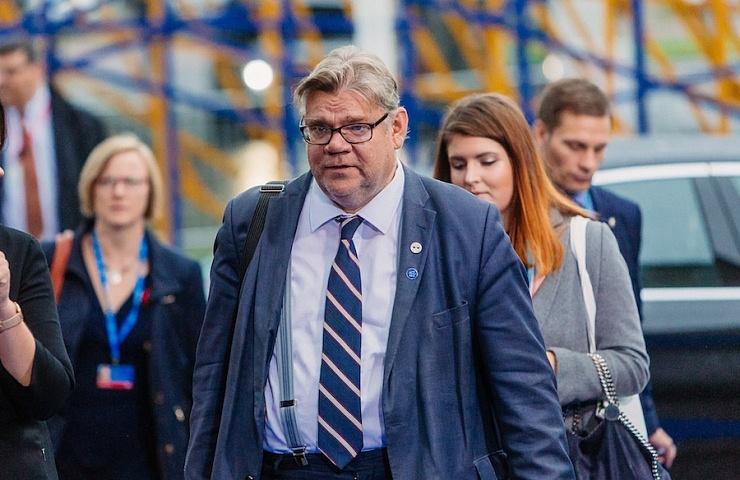 Finnischer Außenminister