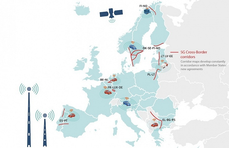 Estonia, Latvia and Lithuania join Europe's 5G corridors to ... on scale map of dominican republic, scale map of asia, scale map of the us, scale map of antarctica, scale map of iraq, scale map of saudi arabia, scale map of united states, scale map of india, scale map of grenada, scale map of the philippines, scale map of iceland,